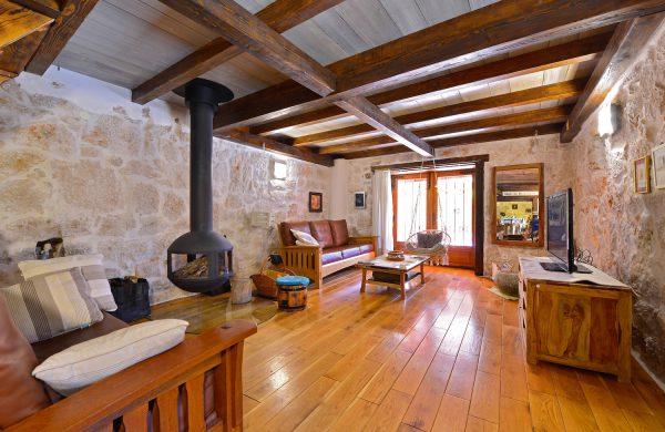 eco villa living room